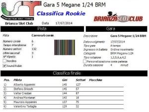 Gara5 Megane Rookie 14