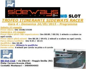 Gara4 Trofeo Itinerante BBSlot 15