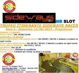 Gara5 Trofeo Itinerante GAS 15