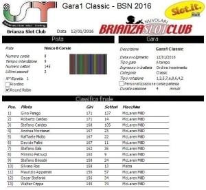 Gara1 Classic 16