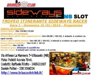 Gara1 Trofeo Itinerante BSN 16