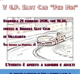 Gran Premio per Noi Ferrari Club 2015 Locandina