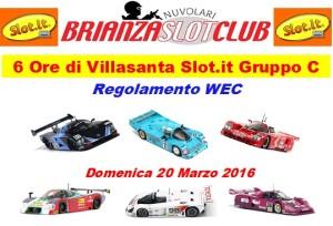 6Ore Villasanta Gr.C  WEC 2016