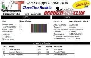 Gara3 Gruppo C Rookie 16
