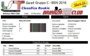 Gara4 Gruppo C Rookie 16