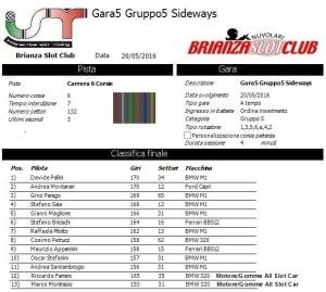 Gara5 Gruppo 5 16
