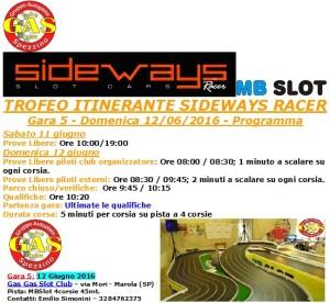 Gara5 Trofeo Itinerante GAS 16