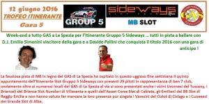 Gara5 Trofeo Itinerante.1 GAS 2016