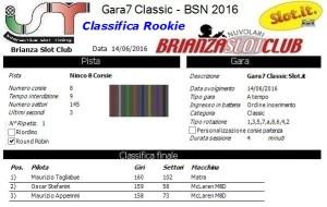 Gara7 Classic Rookie 16