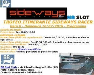 Gara6 Trofeo Itinerante BBSlot 16