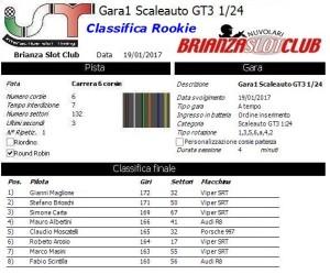 Gara1 Scaleauto Rookie 17