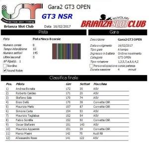 Gara2 GT3 NSR OPEN 17