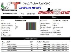 Gara2 Trofeo Corsie Fisse Ford C100 Rookie 17