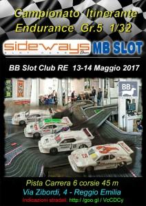 Locandina Trofeo Itinerante Gr5-BB RE