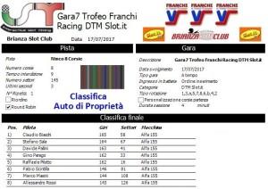 Gara7 Trofeo Franchi Racing DTM Auto di Proprietà 17