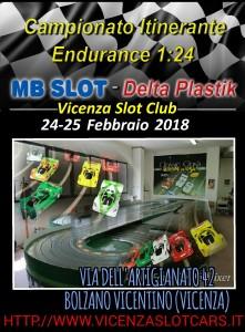 C.Itinerante 1-24 Loc-Vicenza Slot 2018