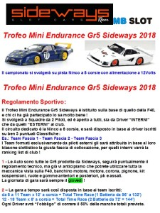Trofeo Gr5 Mini Endurance1 2018