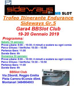 Gara4 BBSlot 2019