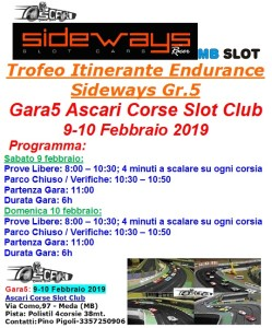 Gara5 Ascari Corse Slot 2019