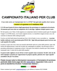 Campionato Italiano Slot.it 2019