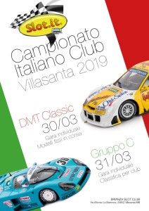 Locandina Campionato Italiano Slot.it-2019